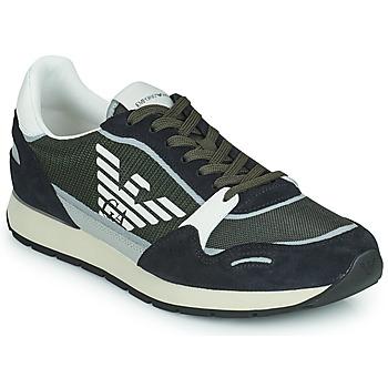 Cipők Férfi Rövid szárú edzőcipők Emporio Armani ANIMA Fekete