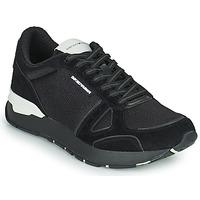 Cipők Férfi Rövid szárú edzőcipők Emporio Armani BALISTA Fekete