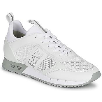 Cipők Rövid szárú edzőcipők Emporio Armani EA7 BLACK&WHITE LACES Fehér