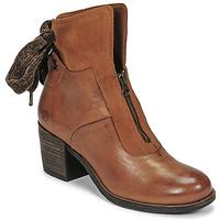 Cipők Női Bokacsizmák Casta PONTA Konyak