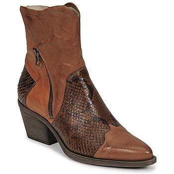 Cipők Női Bokacsizmák Casta DOST Konyak