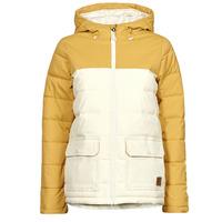 Ruhák Női Steppelt kabátok Rip Curl ANTI SERIES RIDGE JACKET Bézs / Mustár sárga