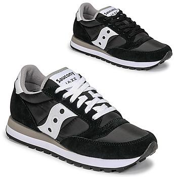 Cipők Rövid szárú edzőcipők Saucony JAZZ ORIGINAL Fekete  / Fehér