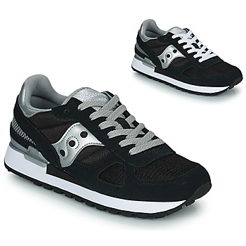Cipők Női Rövid szárú edzőcipők Saucony SHADOW ORIGINAL Fekete  / Ezüst