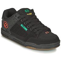 Cipők Férfi Deszkás cipők Globe TILT Fekete  / Kék / Narancssárga
