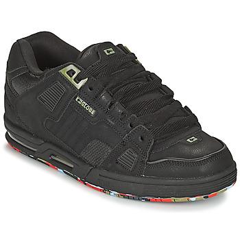 Cipők Férfi Deszkás cipők Globe SABRE Fekete  / Kék