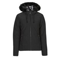Ruhák Női Steppelt kabátok Desigual SNOW Fekete