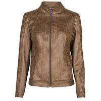 Ruhák Női Bőrkabátok / műbőr kabátok Desigual COMARUGA Barna