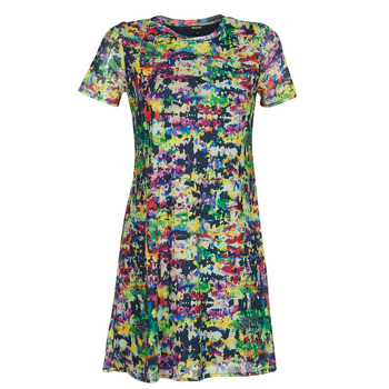 Ruhák Női Rövid ruhák Desigual ANN Sokszínű