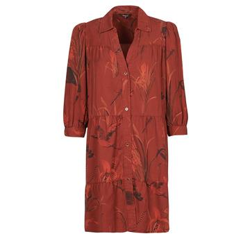 Ruhák Női Rövid ruhák Desigual SEVILLA Piros