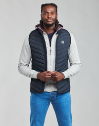 Ruhák Férfi Steppelt kabátok Oxbow N2JELKOR Tengerész