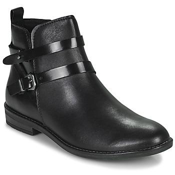 Cipők Női Csizmák Marco Tozzi KARIMA Fekete