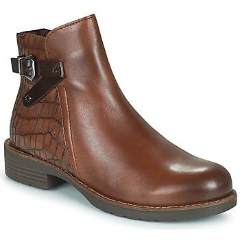 Cipők Női Csizmák Marco Tozzi DEMINA Barna