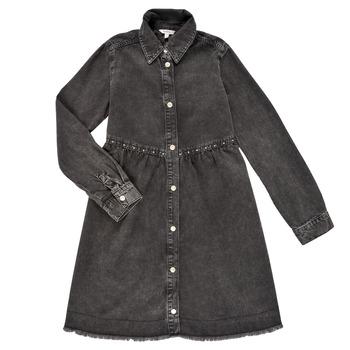 Ruhák Lány Rövid ruhák Pepe jeans FLORIDA DRESS Fekete