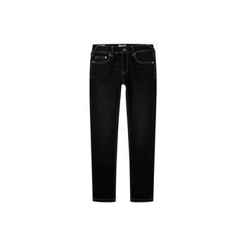 Ruhák Fiú Skinny farmerek Pepe jeans FINLY Kék / Sötét