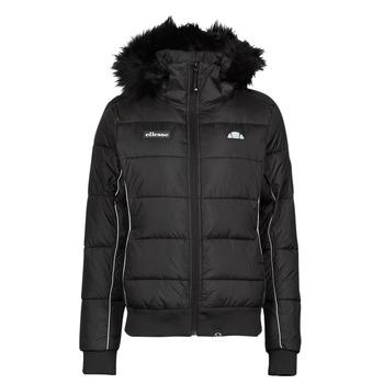 Ruhák Női Steppelt kabátok Ellesse URBAN SKI Fekete