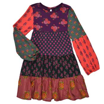 Ruhák Lány Rövid ruhák Desigual CELIA Sokszínű