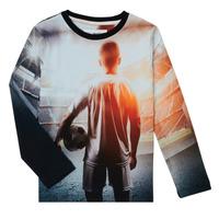 Ruhák Fiú Hosszú ujjú pólók Desigual FOOTBALL Szürke
