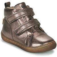 Cipők Lány Magas szárú edzőcipők Bisgaard DEE Ezüst