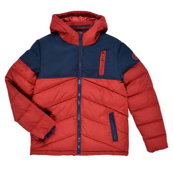 Ruhák Fiú Steppelt kabátok Kaporal JEGA Piros / Tengerész