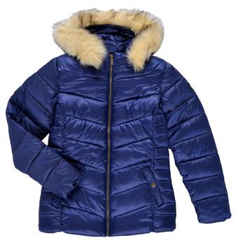 Ruhák Lány Steppelt kabátok Kaporal BETTI Tengerész