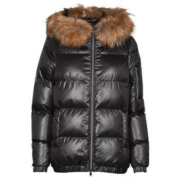 Ruhák Női Steppelt kabátok Geox BAKSIE Fekete