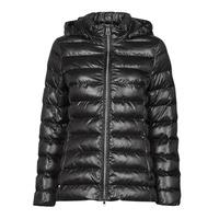 Ruhák Női Steppelt kabátok Geox ALHOUR MID Tengerész