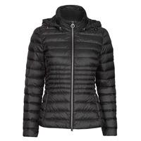 Ruhák Női Steppelt kabátok Geox JAYSEN HOOD Fekete