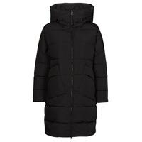 Ruhák Női Steppelt kabátok Geox HOARA Fekete