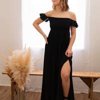 Ruhák Női Hosszú ruhák Céleste PATCHOULI Fekete