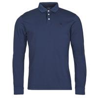 Ruhák Férfi Hosszú ujjú galléros pólók Hackett HM550879 Kék