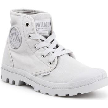 Cipők Női Magas szárú edzőcipők Palladium US PAMPA HI F Vapor 92352-074-M szary