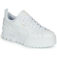 Cipők Női Rövid szárú edzőcipők Puma MAYZE Fehér