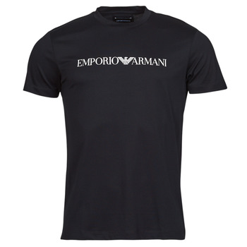 Ruhák Férfi Rövid ujjú pólók Emporio Armani 8N1TN5 Fekete