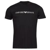 Ruhák Férfi Rövid ujjú pólók Emporio Armani 8N1TN5 Tengerész