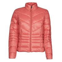 Ruhák Női Steppelt kabátok Vero Moda VMSORAYAZIP Rózsaszín
