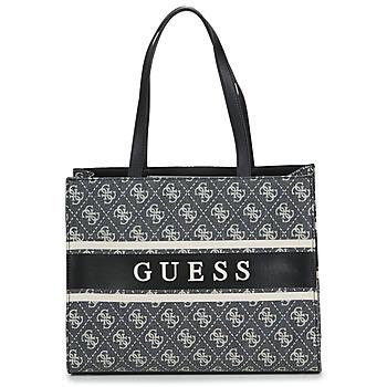 Táskák Női Bevásárló szatyrok / Bevásárló táskák Guess MONIQUE TOTE Fekete
