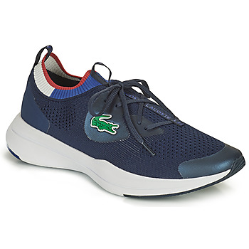 Cipők Férfi Rövid szárú edzőcipők Lacoste RUN SPIN KNIT 0121 1 SMA Tengerész