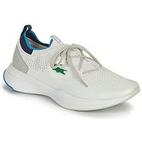 Cipők Férfi Rövid szárú edzőcipők Lacoste RUN SPIN KNIT 0121 1 SMA Fehér / Kék