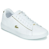 Cipők Női Rövid szárú edzőcipők Lacoste CARNABY EVO 0721 3 SFA Fehér