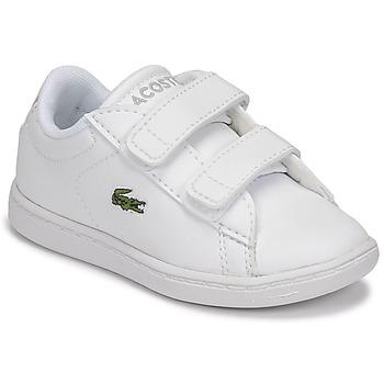 Cipők Gyerek Rövid szárú edzőcipők Lacoste CARNABY EVO BL 21 1 SUI Fehér