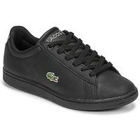 Cipők Gyerek Rövid szárú edzőcipők Lacoste CARNABY EVO BL 21 1 SUJ Fekete