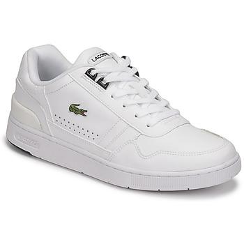 Cipők Női Rövid szárú edzőcipők Lacoste T-CLIP 0121 2 SFA Fehér