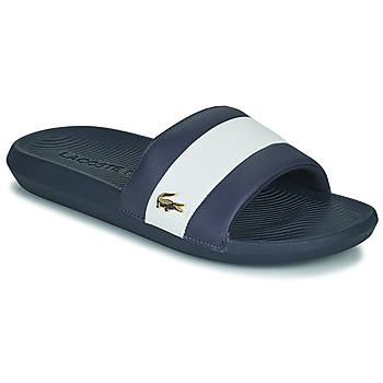 Cipők Férfi strandpapucsok Lacoste CROCO SLIDE 120 3 US CMA Kék / Fehér