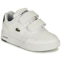 Cipők Gyerek Rövid szárú edzőcipők Lacoste T-CLIP 0121 1 SUI Fehér