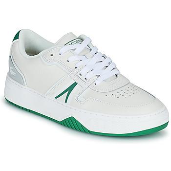 Cipők Női Rövid szárú edzőcipők Lacoste L001 0321 1 SFA Fehér / Zöld