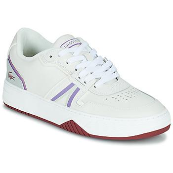 Cipők Női Rövid szárú edzőcipők Lacoste L001 0321 1 SFA Fehér / Lila
