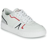 Cipők Férfi Rövid szárú edzőcipők Lacoste L001 0321 1 SMA Fehér / Piros / Kék