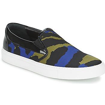 Cipők Női Belebújós cipők Sonia Rykiel Sonia By - Sketch201 Fekete  / Kék / Keki
