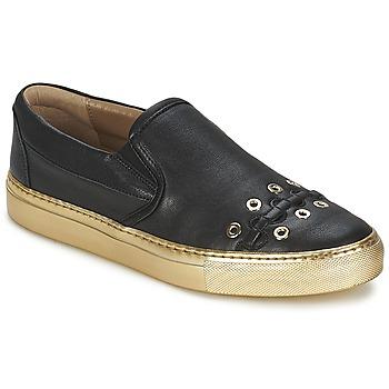 Cipők Női Belebújós cipők Sonia Rykiel MINI ŒILLETS Fekete